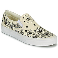 Zapatos Slip on Vans CLASSIC SLIP ON Beige / Negro