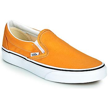 Zapatos Mujer Slip on Vans CLASSIC SLIP ON Amarillo