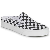Zapatos Zuecos (Mules) Vans CLASSIC SLIP ON MULE Negro / Blanco