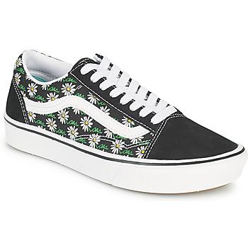 Zapatos Mujer Zapatillas bajas Vans COMFYCUSH OLD SKOOL Negro / Blanco