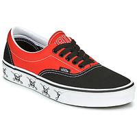 Zapatos Zapatillas bajas Vans ERA Negro / Rojo