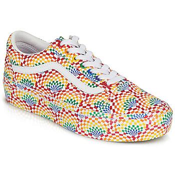 Zapatos Mujer Zapatillas bajas Vans OLD SKOOL PLATFORM Multicolor