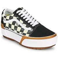 Zapatos Mujer Zapatillas bajas Vans OLD SKOOL STACKED Negro / Blanco