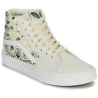 Zapatos Zapatillas altas Vans SK8 HI Beige / Negro