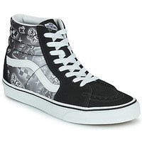 Zapatos Mujer Zapatillas altas Vans SK8 HI Negro / Blanco