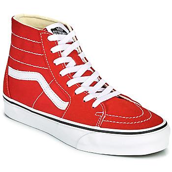 Zapatos Zapatillas altas Vans SK8 HI TAPERED Rojo