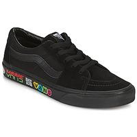 Zapatos Zapatillas altas Vans SK8 LOW Negro