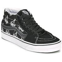 Zapatos Zapatillas altas Vans SK8 MID Negro / Blanco