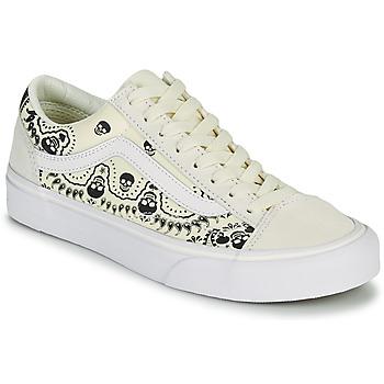 Zapatos Zapatillas bajas Vans STYLE 36 Beige / Negro