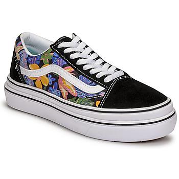 Zapatos Mujer Zapatillas bajas Vans SUPER COMFYCUSH OLD SKOOL Negro / Florido