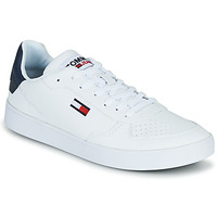Zapatos Hombre Zapatillas bajas Tommy Jeans TOMMY JEANS ESSENTIAL CUPSOLE Blanco