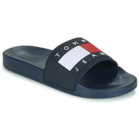 Zapatos Hombre Chanclas Tommy Jeans TOMMY JEANS FLAG POOL SLIDE Azul