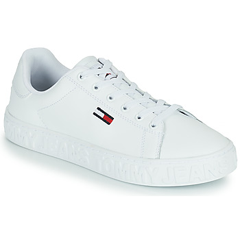 Zapatos Mujer Zapatillas bajas Tommy Jeans COOL TOMMY JEANS SNEAKER Blanco