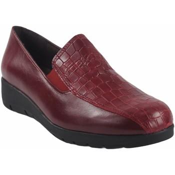 Zapatos Mujer Mocasín Bellatrix Zapato señora  10505 rojo Rojo