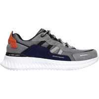 Zapatos Hombre Deportivas Moda Skechers 232011 Gris