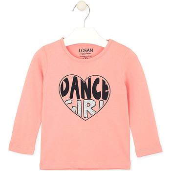textil Niños Tops y Camisetas Losan 026-1632AL Rosado