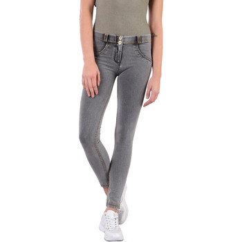 textil Mujer Pantalones Freddy WRUP1RC003 Gris