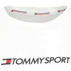 textil Mujer Tops y Camisetas Tommy Hilfiger S10S100445 Blanco