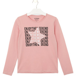 textil Niños Tops y Camisetas Losan 024-1631AL Rosado