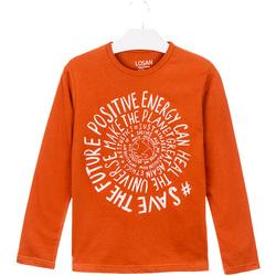 textil Niños Tops y Camisetas Losan 023-1013AL Naranja