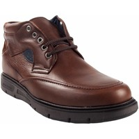 Zapatos Hombre Botas de caña baja Riverty Botín caballero  619 marron Marrón