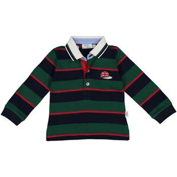 textil Niño Polos manga larga Melby 20C0270 Verde