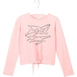 textil Niños Tops y Camisetas Losan 024-1202AL Rosado
