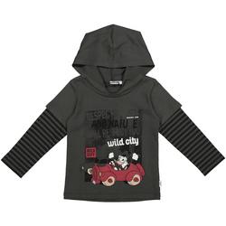 textil Niños Sudaderas Melby 40C2062DN Gris