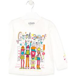 textil Niños Tops y Camisetas Losan 026-1003AL Blanco