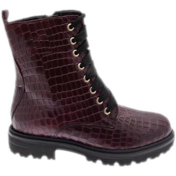 Zapatos Mujer Botas de caña baja Calzaturificio Loren LOC3918bor rosso
