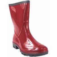 Zapatos Mujer Botas de agua Kelara Bota de agua señora  k91101 rojo Rojo