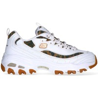 Zapatos Mujer Fitness / Training Skechers D LITES-QUICK LEOPARD BLANCO GOLD MUJER 13158WHLD BLANCO DORADO