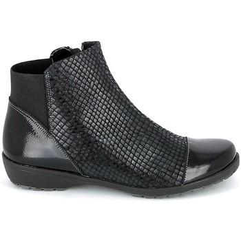 Zapatos Mujer Botas de caña baja Boissy 8081 Noir Negro