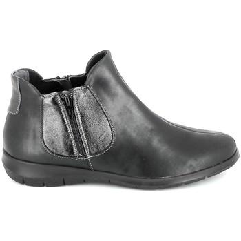 Zapatos Mujer Botas de caña baja Boissy 66000 Noir Negro