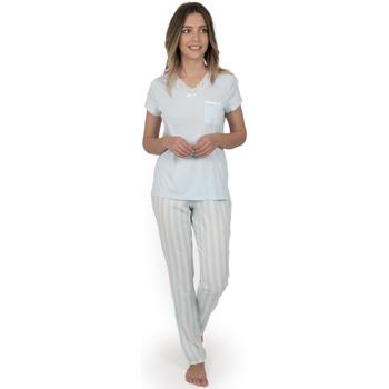 textil Mujer Pijama Admas Classic CLASSIC STRIPES AZUL