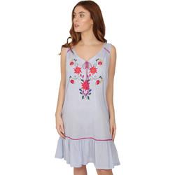 textil Mujer Pijama Admas MEXICAN EMBROIDERY AZUL
