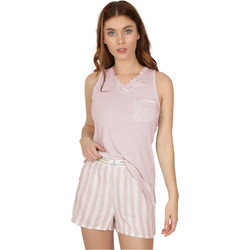 textil Mujer Pijama Admas Classic CLASSIC STRIPES ROSA
