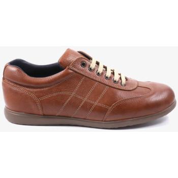 Zapatos Hombre Deportivas Moda Traveris 24102 Marrón