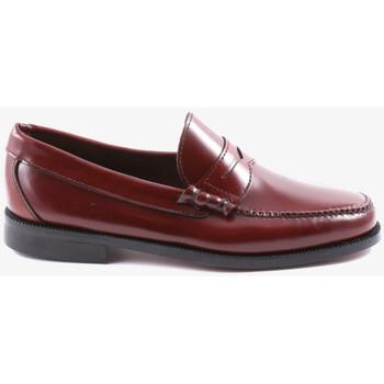 Zapatos Hombre Mocasín Kennebec S21 Rojo