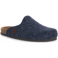 Zapatos Pantuflas Bioline JEANS MERINOS Blu