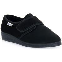 Zapatos Hombre Pantuflas Emanuela 601 NERO PANTOFOLA Nero