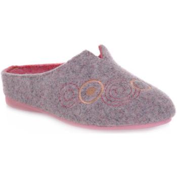 Zapatos Mujer Pantuflas Emanuela 1527 DOUBLE ROSA Rosa