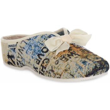 Zapatos Mujer Pantuflas Emanuela 2900 GOBE 320 Grigio