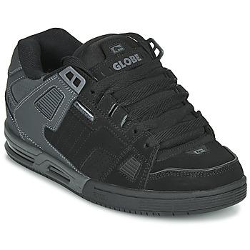 Zapatos Hombre Zapatos de skate Globe SABRE Negro / Gris