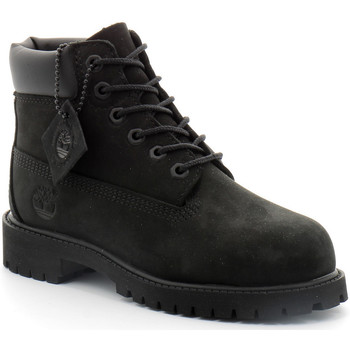 Zapatos Niños Botas de caña baja Timberland 6in Premium Noir
