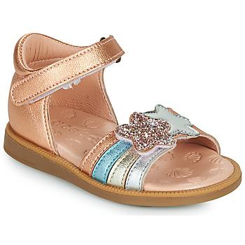 Zapatos Niña Sandalias Acebo's 1228-RAME Bronce
