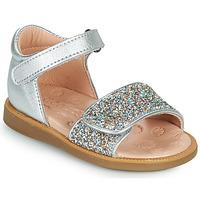 Zapatos Niña Sandalias Acebo's 1232-PLATA Plata
