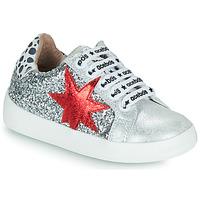 Zapatos Niña Zapatillas bajas Acebo's 5461GL-PLATA-J Plata