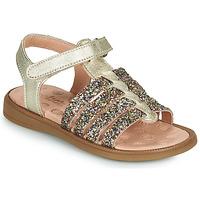 Zapatos Niña Sandalias Acebo's 5498GE-PLATINO-J Oro
