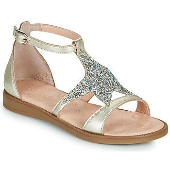 Zapatos Niña Sandalias Acebo's 9895GE-PLATINO-J Oro